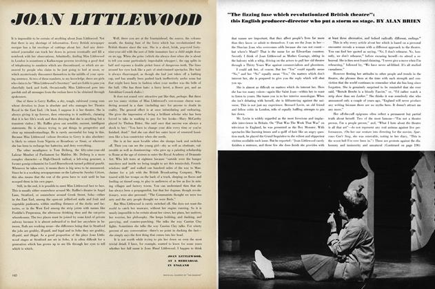 Article Preview: Joan Littlewood, September 15 1964 | Vogue