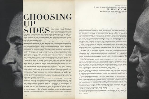 Choosing up Sides