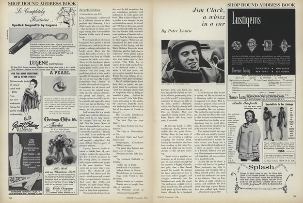 Jim Clark, a Whizz in a Car