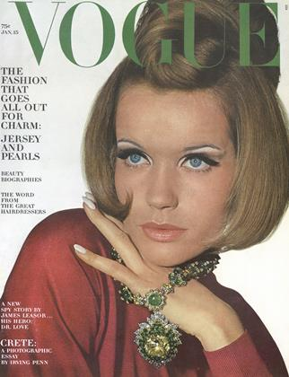Cover for the January 15 1965 issue