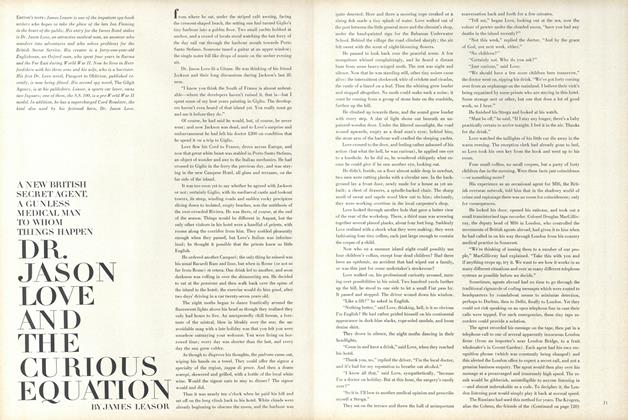 Article Preview: Dr. Jason Love and the Curious Equation, January 15 1965 | Vogue