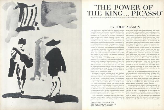"Article Preview: ""The Power of the King...Picasso"", January 15 1965 