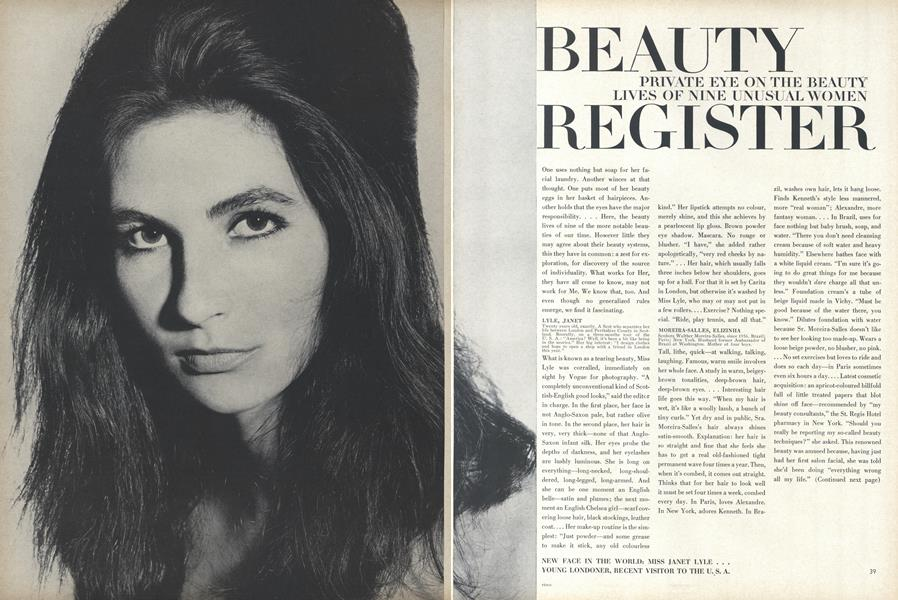 Private Eye on the Beauty Lives of Nine Unusual Women