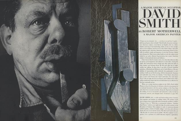 David Smith: A Major American Scultor