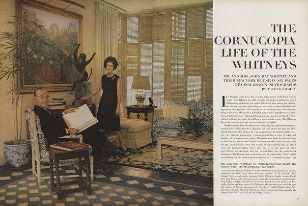 The Cornucopia Life of the Whitneys