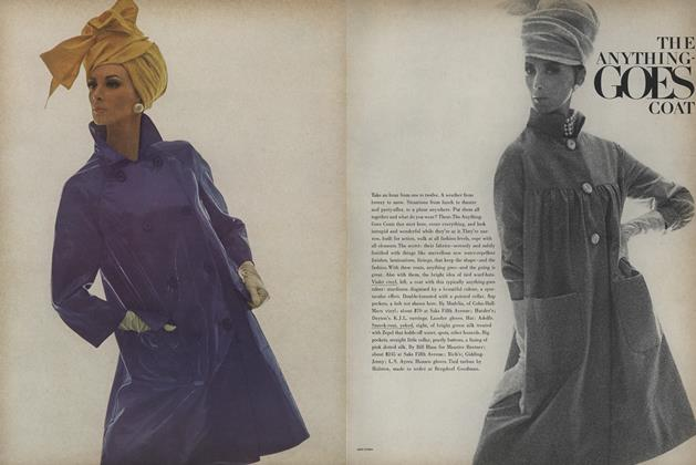 Article Preview: The Anything-Goes Coat, March 15 1965 | Vogue