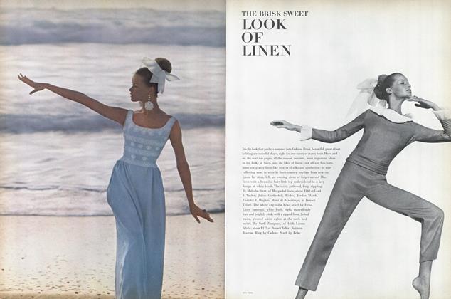 The Brisk Sweet Look of Linen