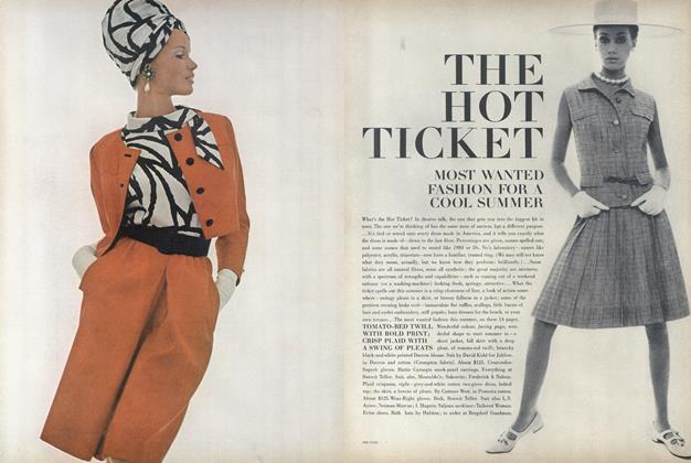 The Hot Ticket—Most Wanted Fashion for a Cool Summer