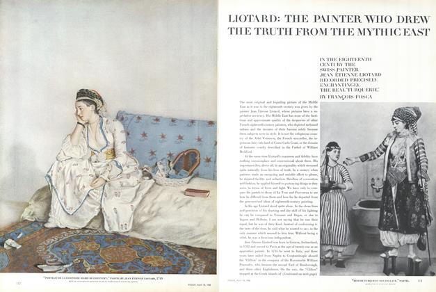 Liotard: The Painter Who Drew the Truth from the Mythic East