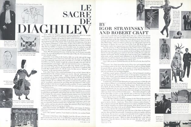 Le Sacre de Diaghilev