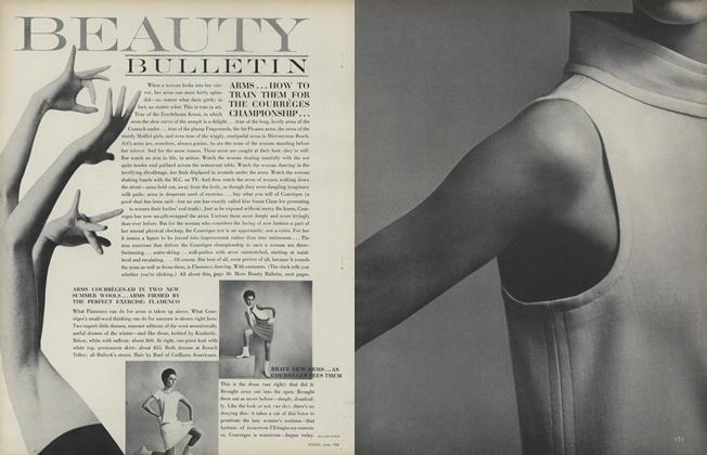 Arms...How to Train Them for the Courreges Championship...