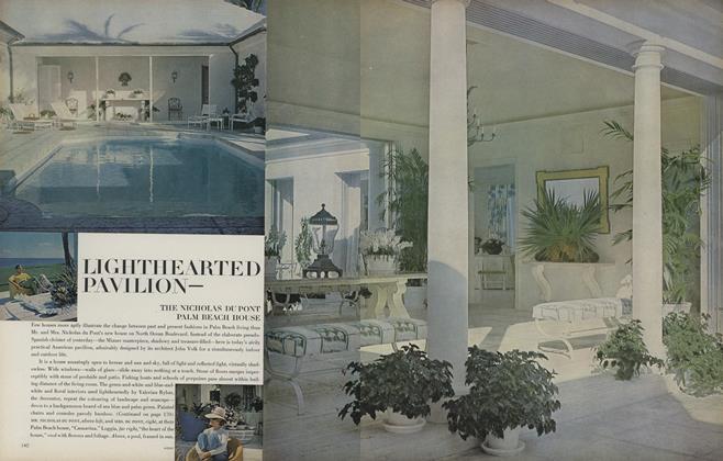 Lighthearted Pavilion–The Nicholas Dupont Palm Beach House
