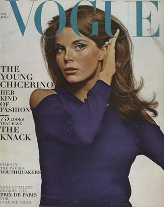 Cover for the August 1 1965 issue