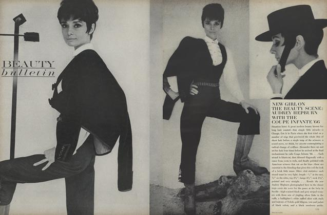 New Girl on the Beauty Scene: Audrey Hepburn with the Coupe Infante '66