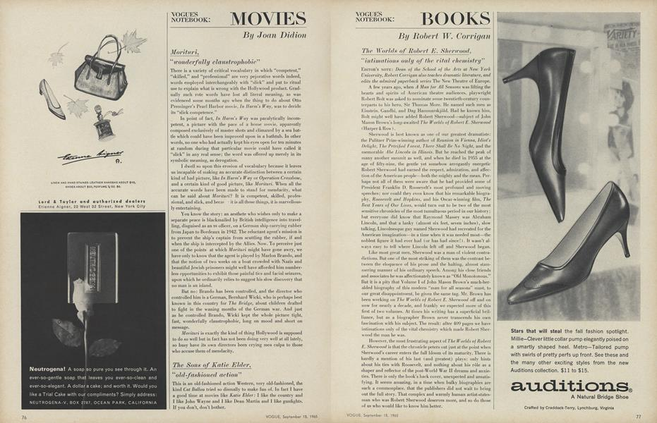 Movies: Morituri/The Sone of Katie Elder