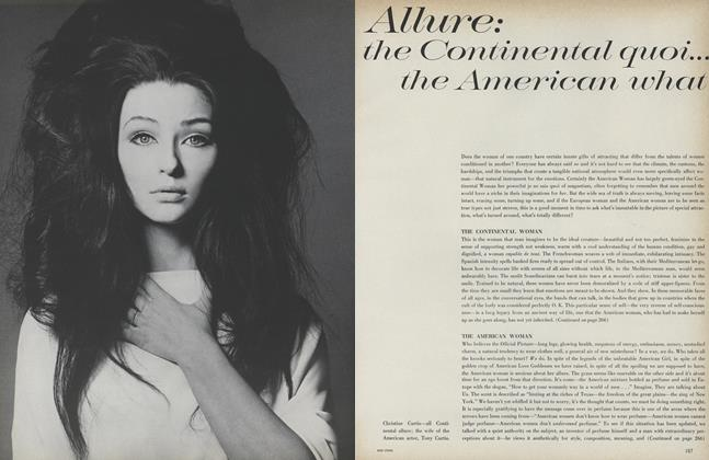 Allure: The Continental Quoi... the American What