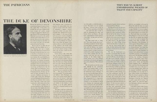 The Patricians: Lord Devonshire