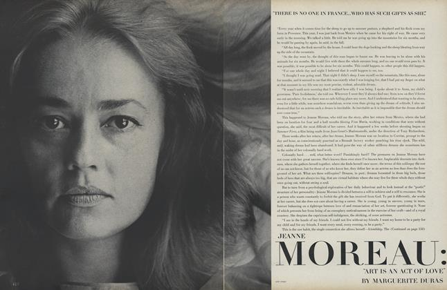 "Jeanne Moreau: ""Art is an Act of Love"""
