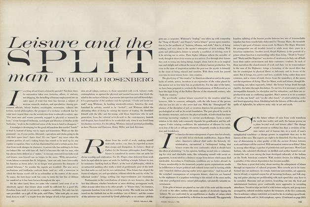 Article Preview: Leisure and the Split Man, February 1 1966 | Vogue