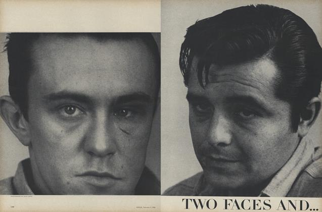Two Faces and a Landscape