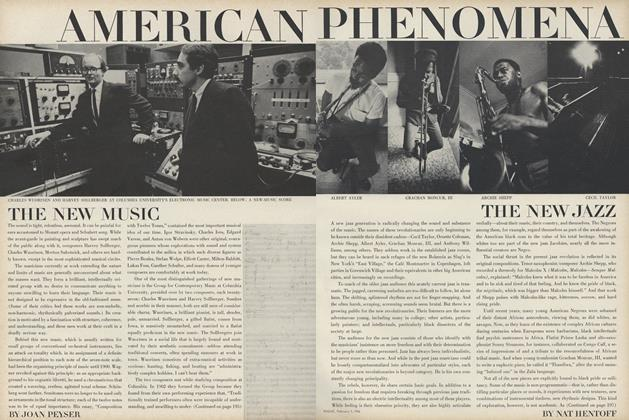 Article Preview: American Phenomena: The New Jazz, February 1 1966 | Vogue