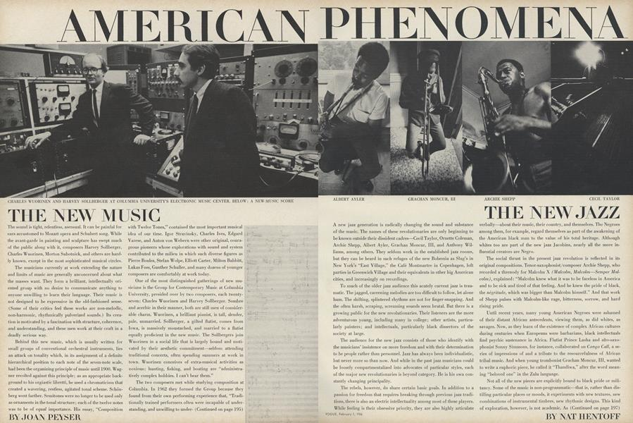 American Phenomena: The New Jazz