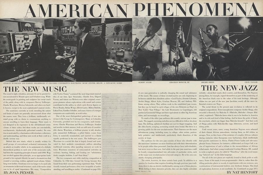 American Phenomena: The New Music