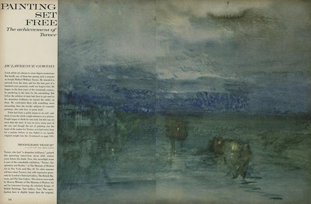 Painting Set Free: the Achievement of Turner