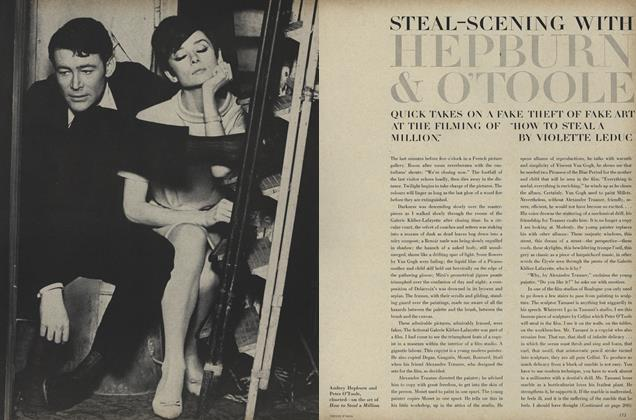 "Steal—scening with Hepburn & O'toole: Quick Takes on a Fake Theft of Fake Art at the Filming of ""How to Steal a Million."""