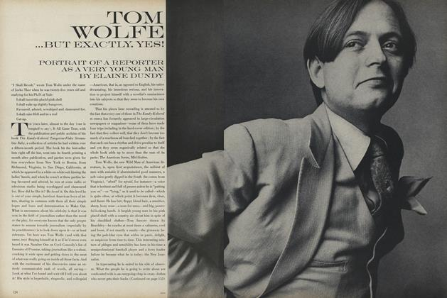 Tom Wolfe...But Exactly Yes!
