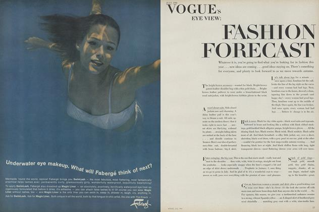 Article Preview: Fashion Forecast, July 1966 | Vogue