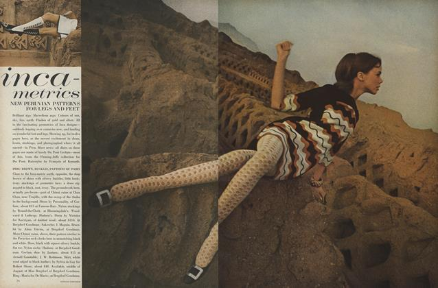 Article Preview: Inca-Metrics, July 1966 | Vogue