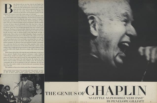 Article Preview: The Genius of Chaplin, July 1966 | Vogue