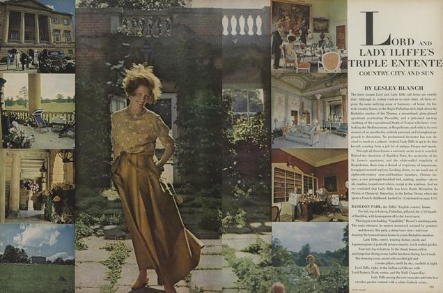 Article Preview: Lord and Lady Iliffe's Triple Entente: Country, City, and Sun, July 1966 | Vogue