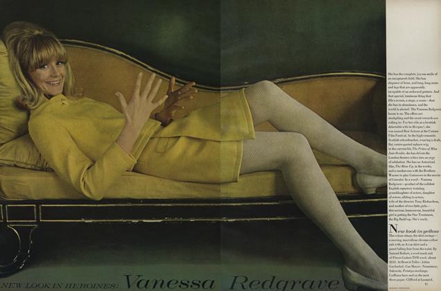 New Look in Heroines: Vanessa Redgrave