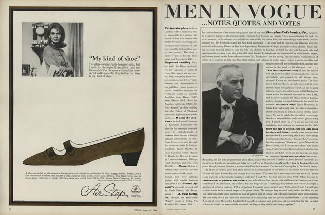 Article Preview: , August 15 1966 | Vogue
