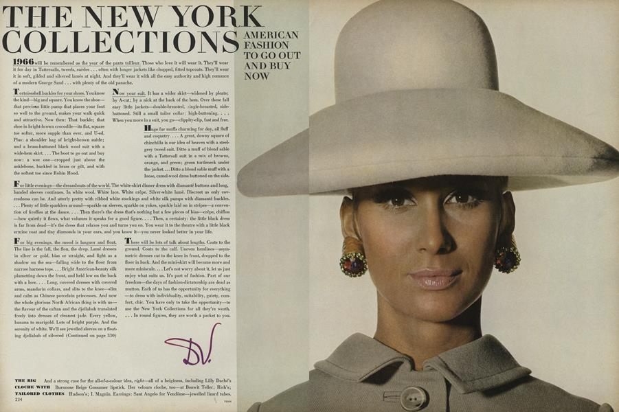 The New York Collections. American Fashion to Go Out and Buy Now.