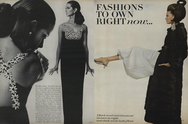 Fashions to Own Right Now