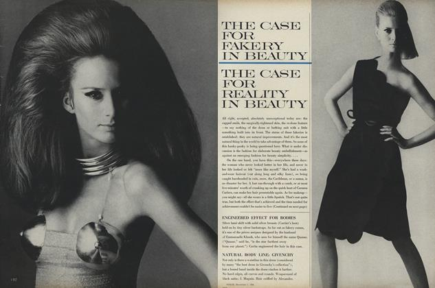 The Case for Fakery in Beauty/The Case for Reality in Beauty