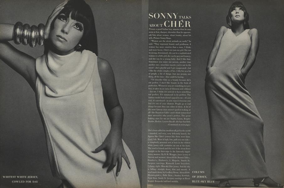Sonny Talks about Cher