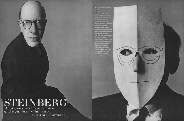 Article Preview: Steinberg, January 1 1967 | Vogue