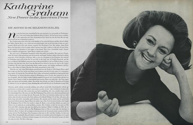 Article Preview: Katharine Graham: New Power in the American Press, January 1 1967 | Vogue