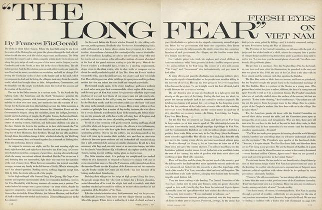 "Article Preview: ""The Long Fear"", January 1 1967 