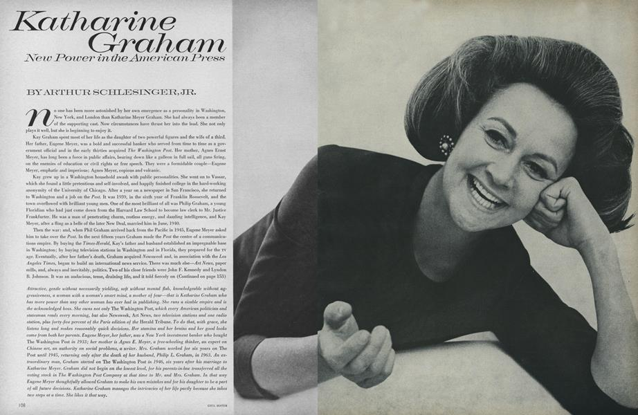 Katharine Graham: New Power in the American Press