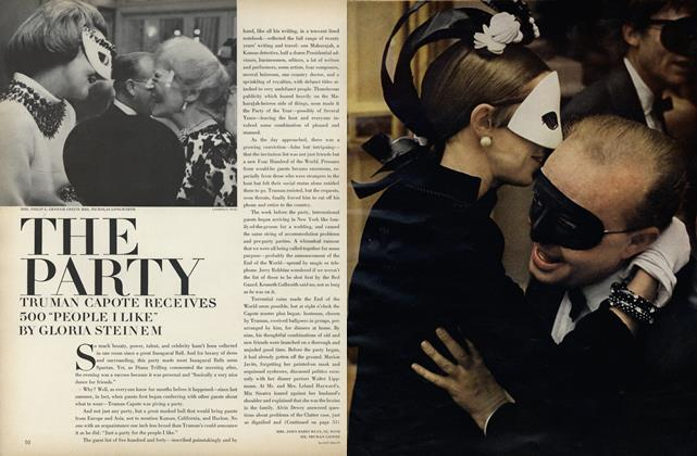 "The Party: Truman Capote Receives 500 ""People I Like"""