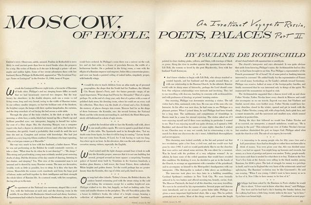 Moscow, of People, Poets, Palaces