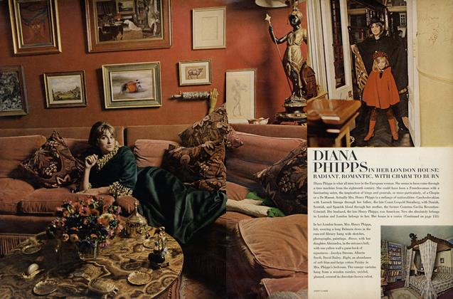 Diana Phipps in Her London House: Radiant, Romantic, with Charm to Burn