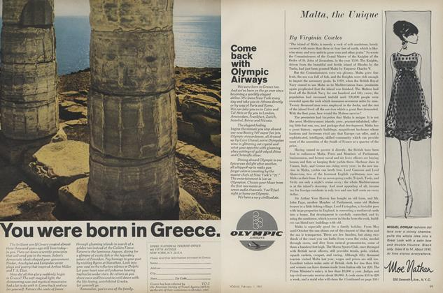 Article Preview: Malta, the Unique, February 1 1967 | Vogue
