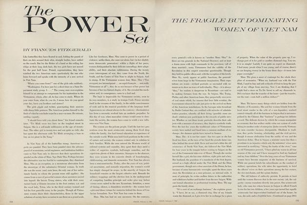 Article Preview: The Power Set: The Fragile but Dominating Women of Viet Nam, February 1 1967 | Vogue