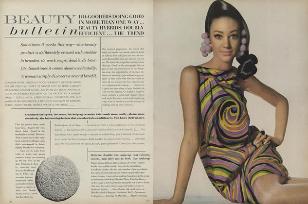Article Preview: Do-gooders Doing Good in More Than One Way...Beauty Hybrids, Doubly Efficient...The Trend..., February 1 1967 | Vogue